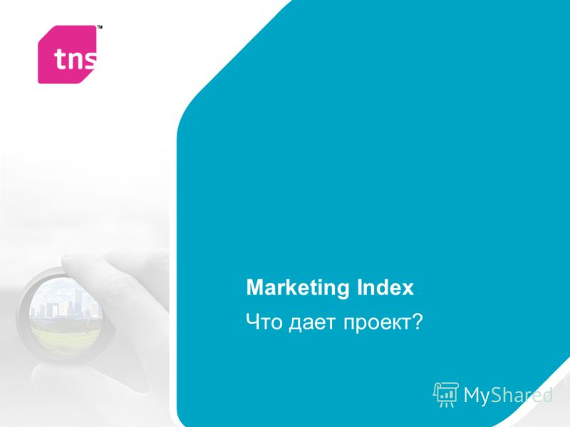 Marketing Index Что дает проект?