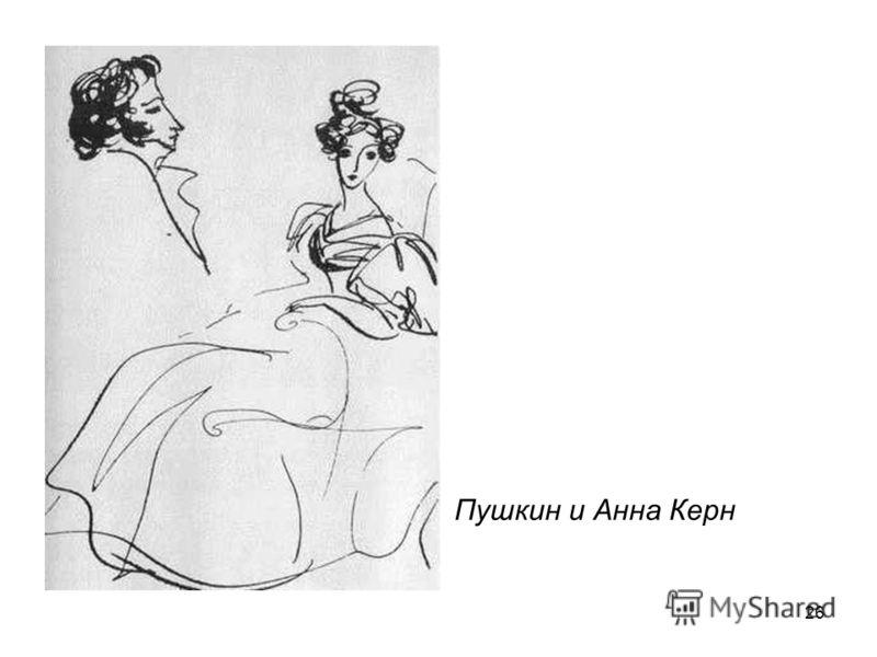26 Пушкин и Анна Керн