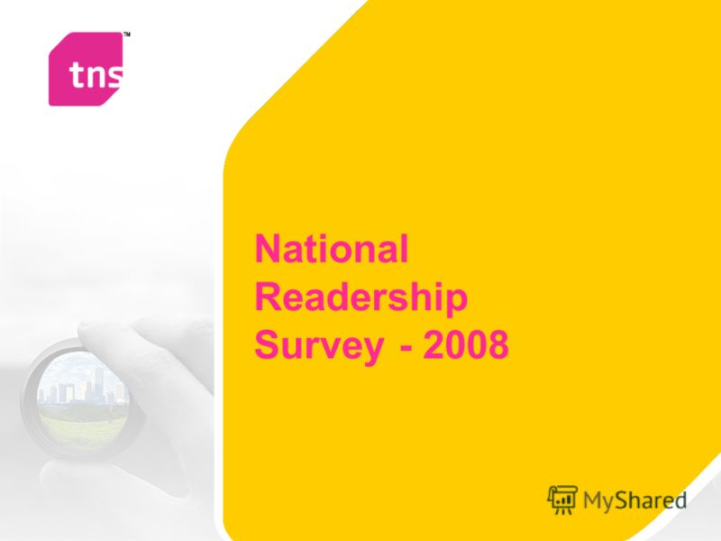 National Readership Survey - 2008