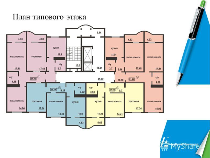 13 План типового этажа