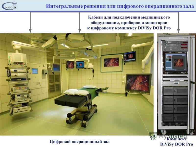Интегральные решения для цифрового операционного зала