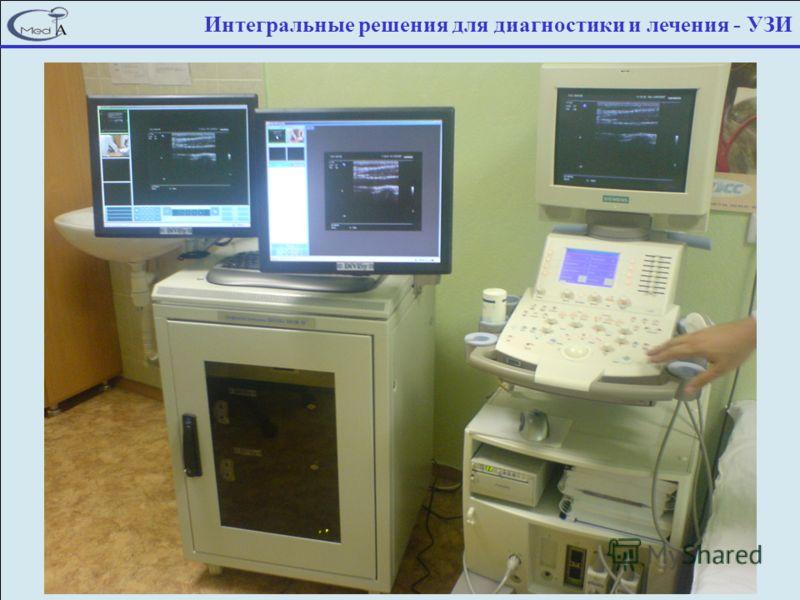 Интегральные решения для диагностики и лечения - УЗИ