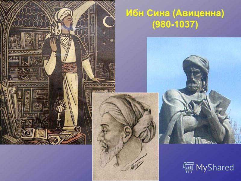 Ибн Сина (Авиценна) (980-1037)