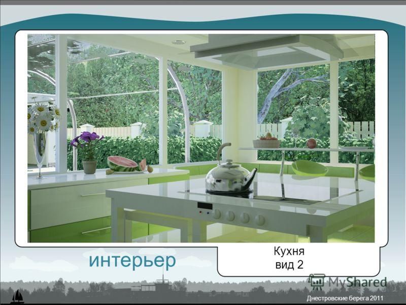 Днестровские берега 2011 Кухня вид 2 интерьер
