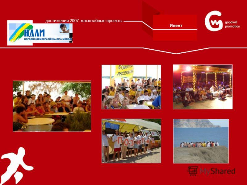 Ивент достижения 2007: масштабные проекты