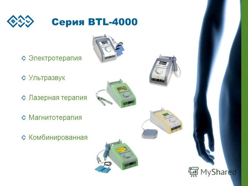 Серия BTL-4000 Электротерапия Ультразвук Лазерная терапия Магнитотерапия Комбинированная