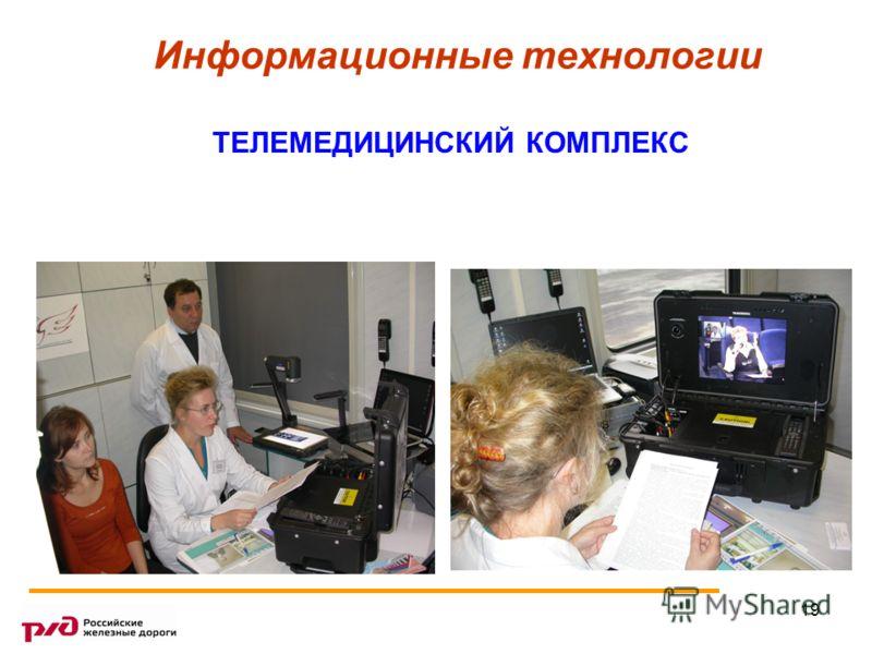 19 Информационные технологии ТЕЛЕМЕДИЦИНСКИЙ КОМПЛЕКС