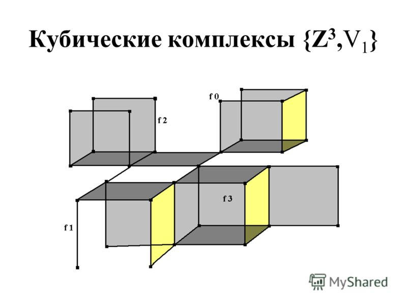 Кубические комплексы {Z 3,V 1 }