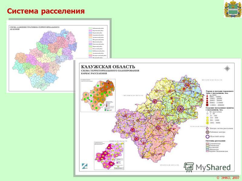 Система расселения © ЭНКО, 2007