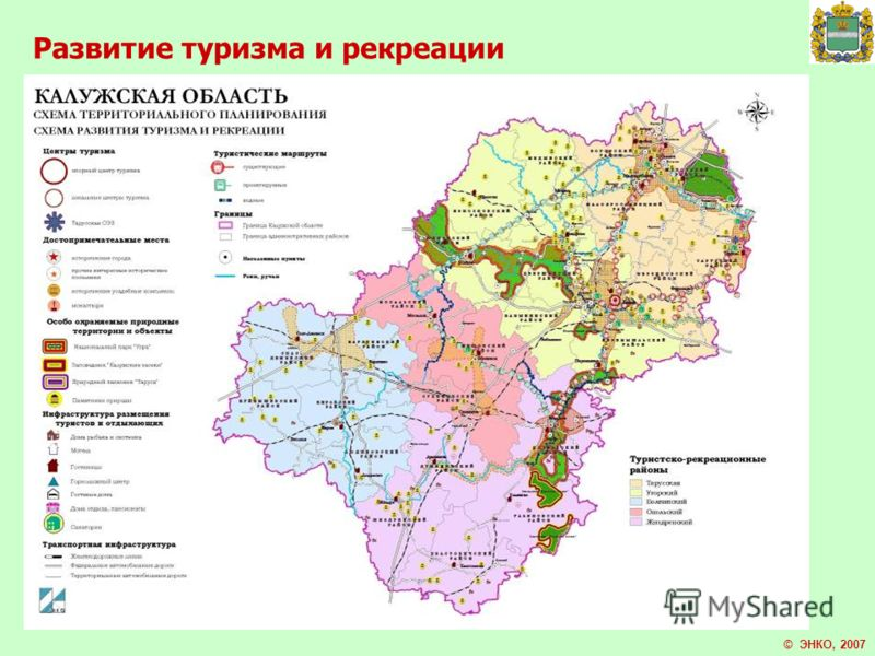 Развитие туризма и рекреации