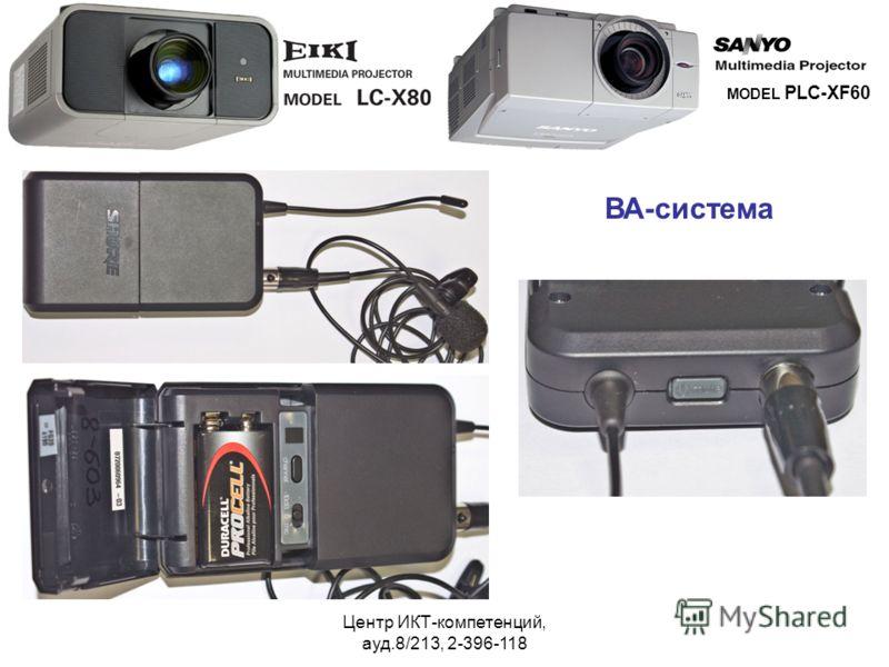 Центр ИКТ-компетенций, ауд.8/213, 2-396-118 MODEL PLC-XF60 ВА-система