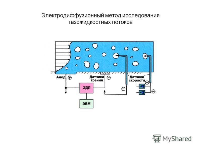 Электродиффузионный метод исследования газожидкостных потоков