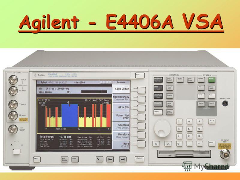 Agilent - E4406A VSA