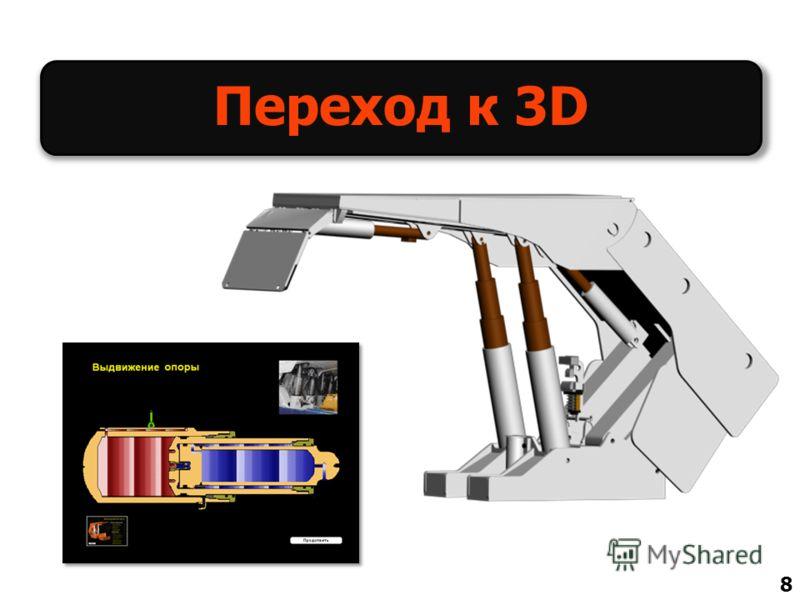 Переход к 3D 8