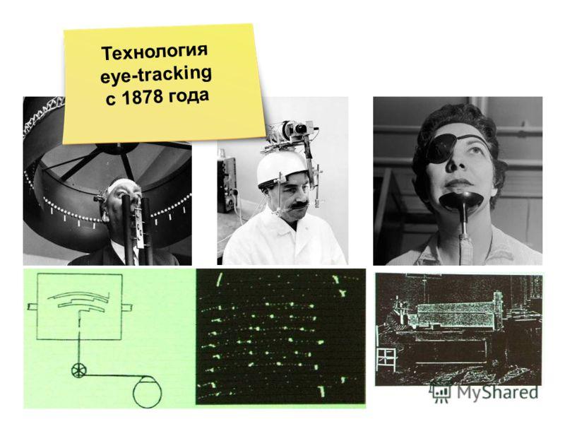 Технология eye-tracking с 1878 года