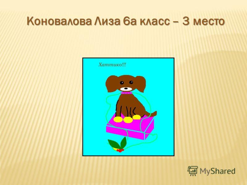 Коновалова Лиза 6а класс – 3 место