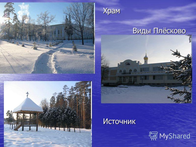 Храм Виды Плёсково Источник