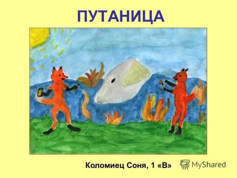 ПУТАНИЦА Коломиец Соня, 1 «В»