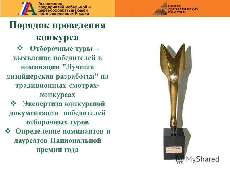 Порядок проведения конкурса Отборочные туры – выявление победителей в номинации