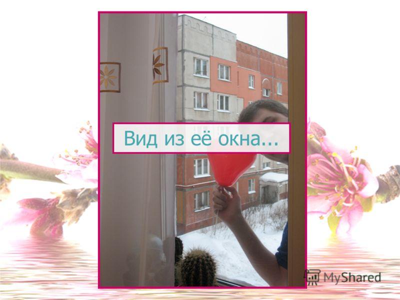 Вид из её окна...