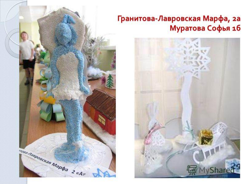 Гранитова - Лавровская Марфа, 2 а Муратова Софья 1 б