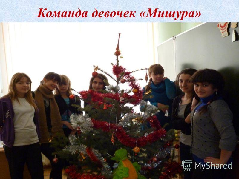 Команда девочек «Мишура»