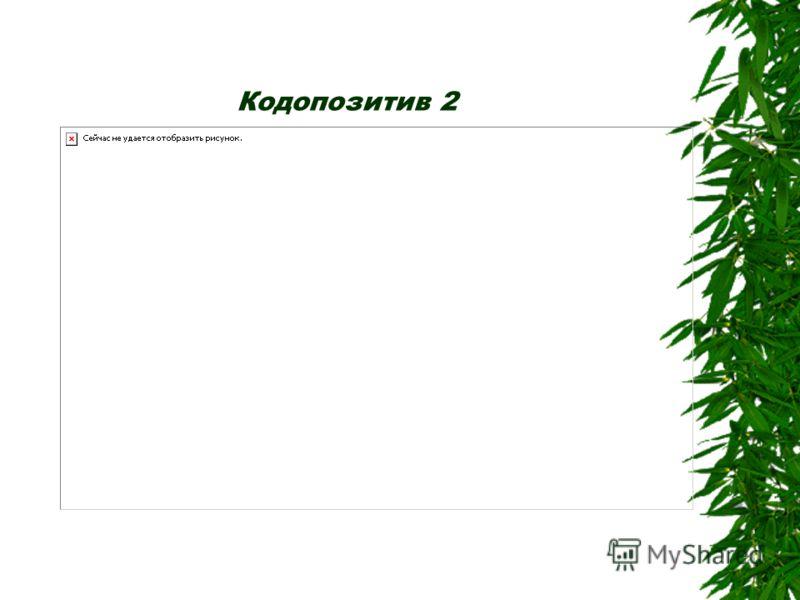 1 Задание 1. Определите процентное содержание компонентов в каждом из данных витаминных сборов (кодопозитивы 1–3).