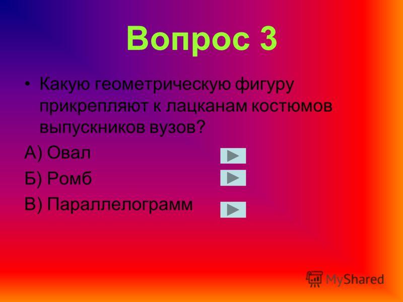 Вопрос 2 В какой объёмной геометрической фигуре всегда можно найти для себя награду? А) В конусе Б) В кубе В) В призме