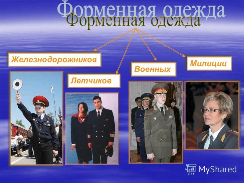 Летчиков Железнодорожников Военных Милиции