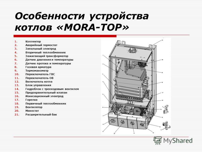 мора топ газовый котел инструкция - фото 9