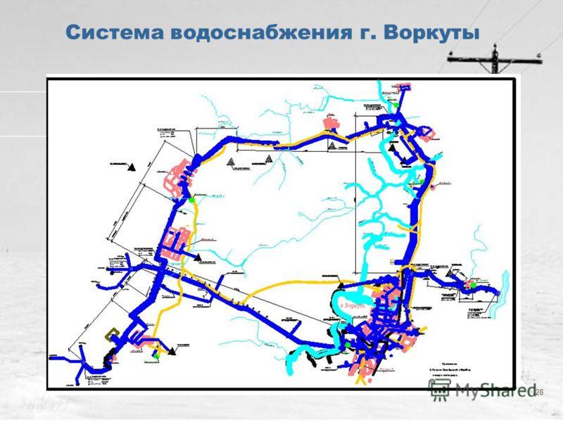 28 Система водоснабжения г. Воркуты