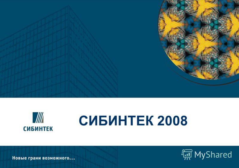 СИБИНТЕК 2008 2008