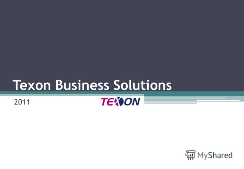 Texon Business Solutions 2011