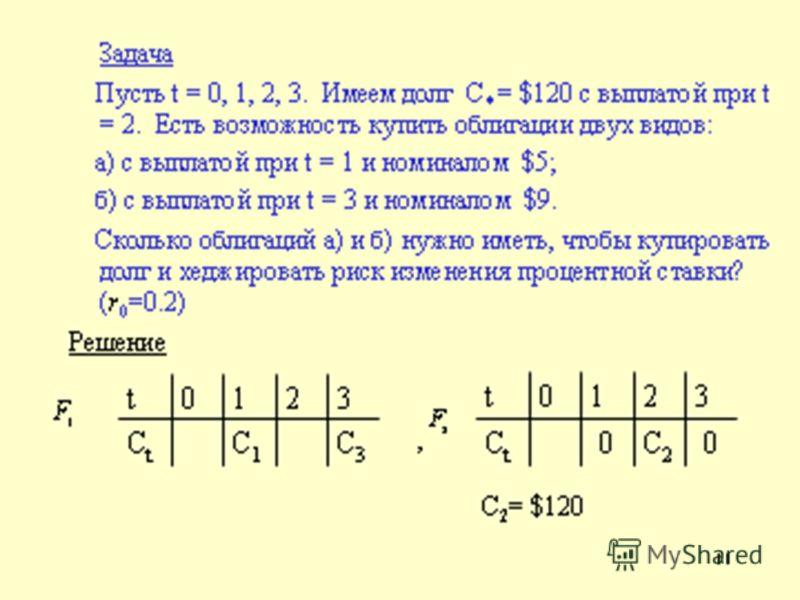 8 Таким образом равенство дюраций обеспечивает «почти эквивалентность» в малой окрестности точки r = r 0. Утверждение2 Если выполнены равенства (1) –(2) и кроме того при r = r 0, (3) то P 1 (r) >P 2 (r) для всех r r 0 из некоторой окрестности точки r