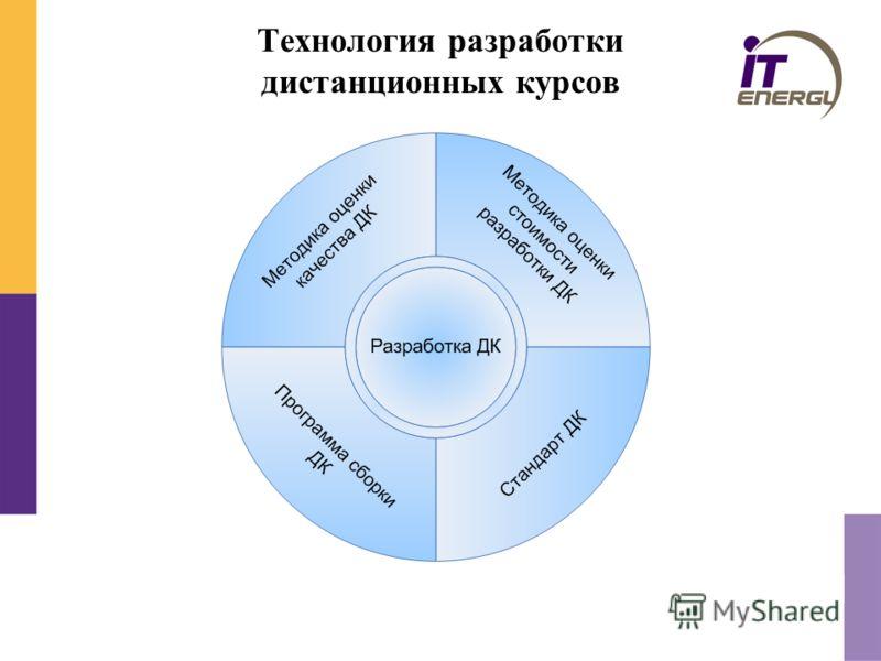 Технология разработки дистанционных курсов