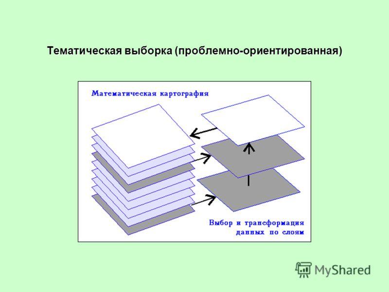 Тематическая выборка (проблемно-ориентированная)
