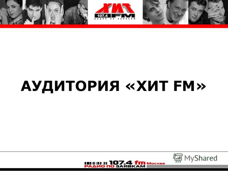 АУДИТОРИЯ «ХИТ FM»