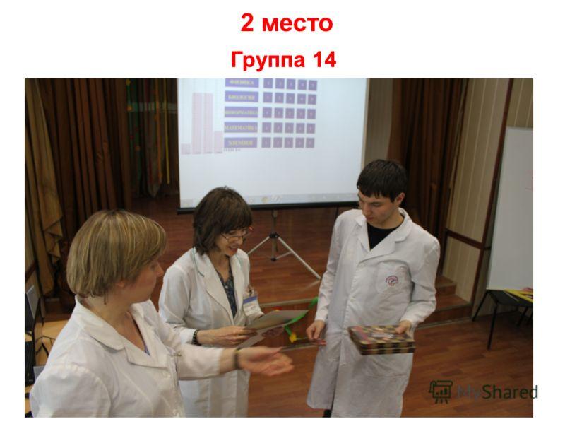 Группа 14 2 место Группа 14