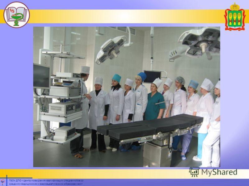 ГБОУ ДПО «Центр повышения квалификации специалистов со средним медицинским и фармацевтическим образованием»