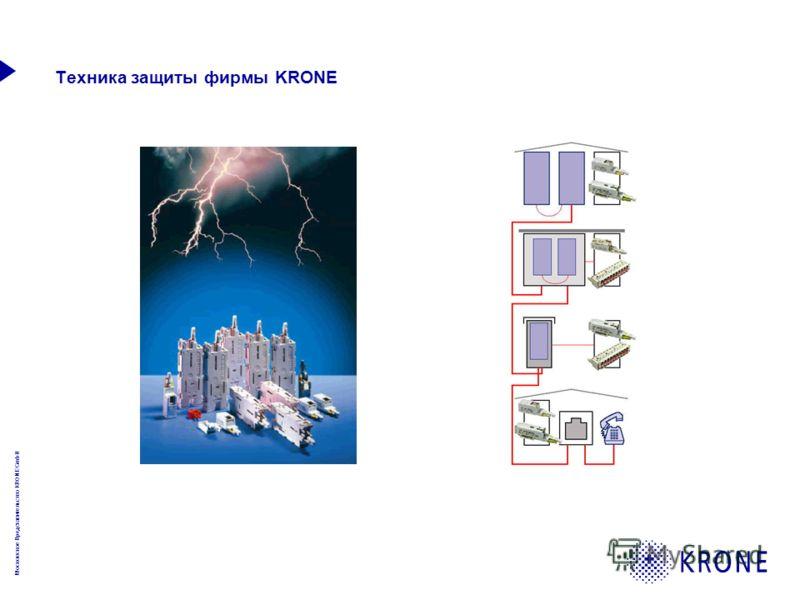 Московское Представительство KRONE GmbH Техника защиты фирмы KRONE