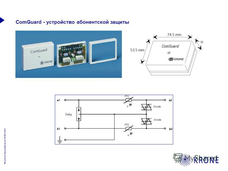 Московское Представительство KRONE GmbH ComGuard - устройство абонентской защиты