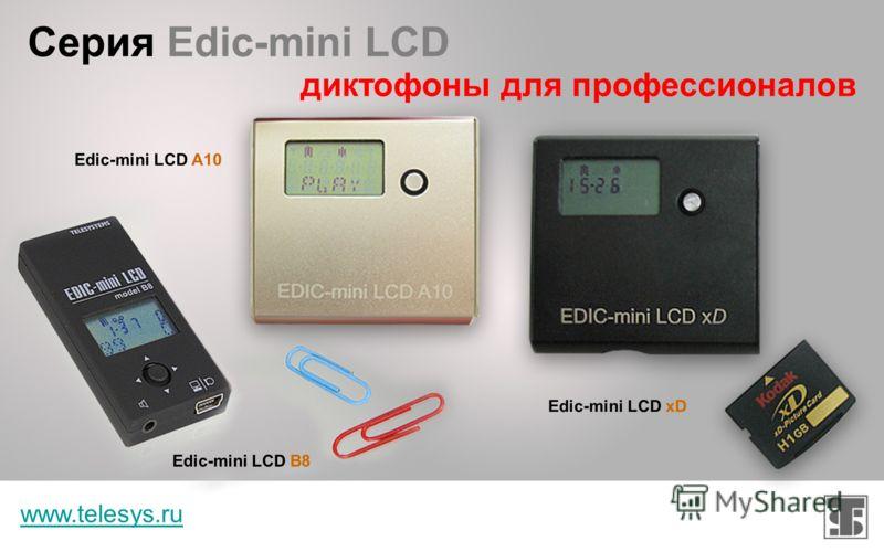 Серия Edic-mini PLUS www.telesys.ru соединение лучших параметров разных серий Edic-mini PLUS A9