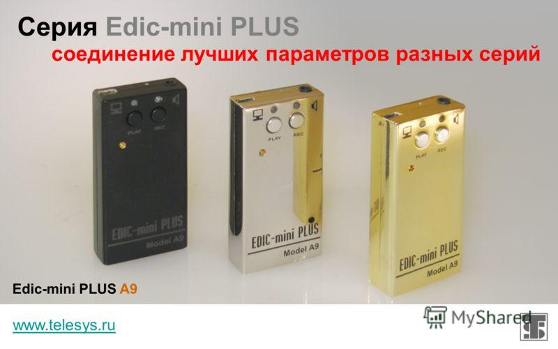 Серия Edic-mini PRO www.telesys.ru профессиональные диктофоны для бизнеса Edic-mini PRO B42 Edic-mini PRO A38