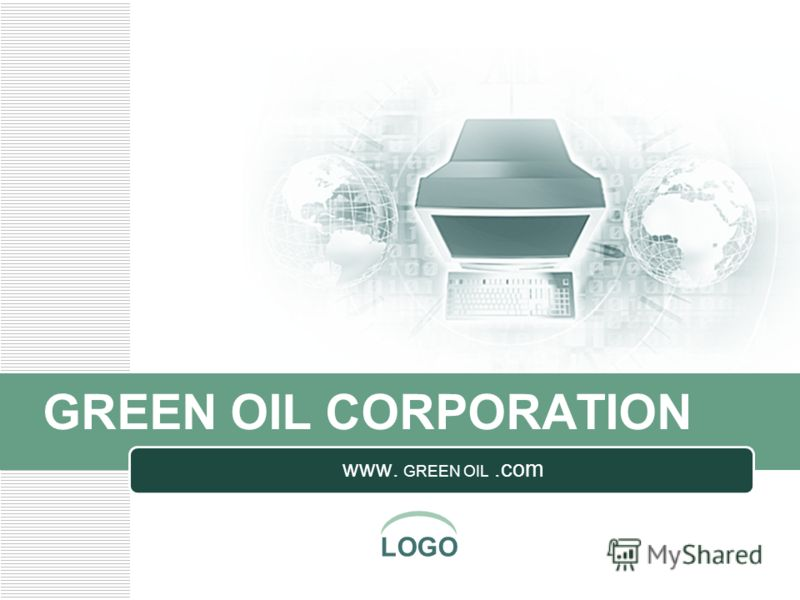 LOGO GREEN OIL CORPORATION www. GREEN OIL.com