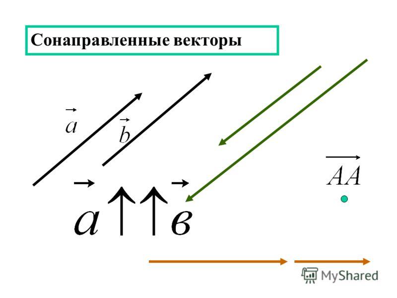 Сонаправленные векторы