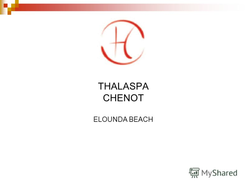 THALASPA CHENOT ELOUNDA BEACH