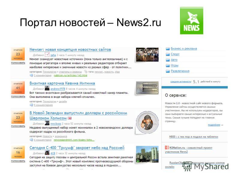 Портал новостей – News2.ru