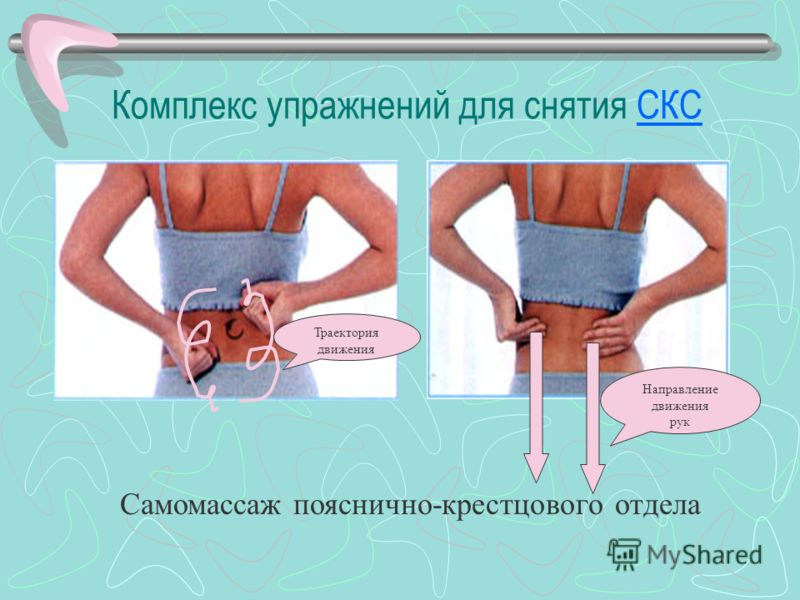 Комплекс упражнений для снятия СКССКС Самомассаж кисти