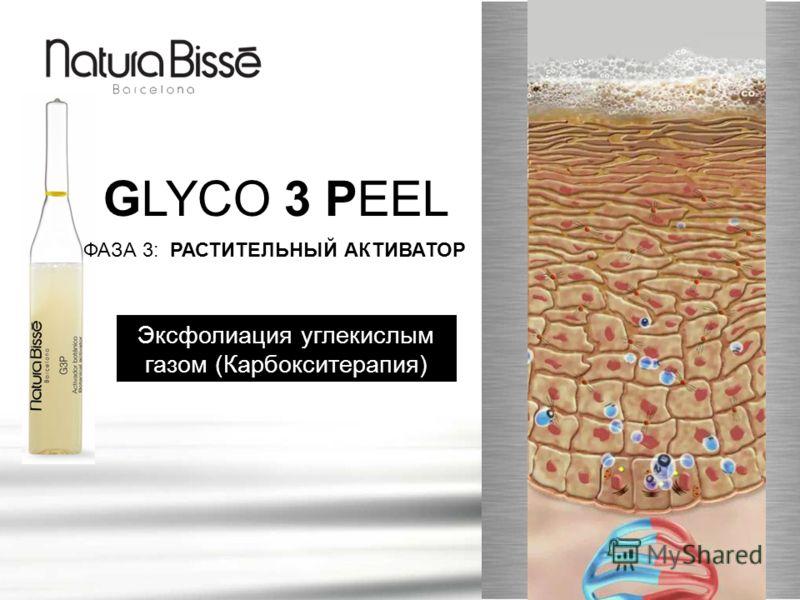 GLYCO 3 PEEL ФАЗА 3: РАСТИТЕЛЬНЫЙ АКТИВАТОР Эксфолиация углекислым газом (Карбокситерапия)