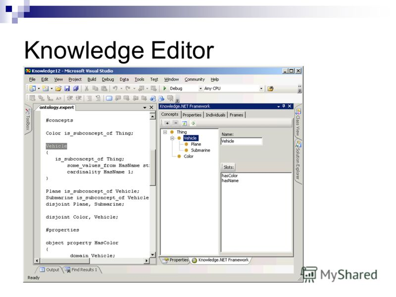 Knowledge Editor